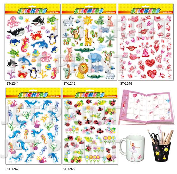 PVC, PVC 貼紙, 海洋動物, 動物園, 愛心, 蜜蜂